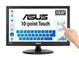 Asus VT168H - Monitor tactil de 15.6'' (1366x768, 200 cd/m², 50000000:1, capacitiva, 76 Hz, 0,252 x...