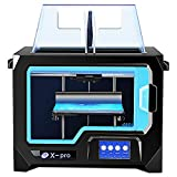 Impresora 3d Qidi Tech 3D Printer, New Model: X-pro, 4.3 Inch Touchscreen, Dual Extruder With 2...